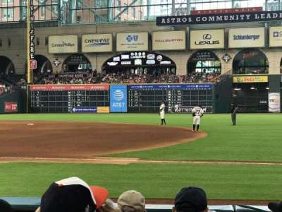 Minute Maid Park, section: 127, row: 7, seat: 20