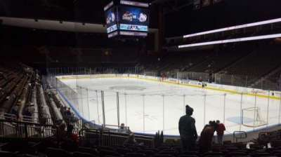 Jacksonville Veterans Memorial Arena, section: 110, row: N, seat: 12
