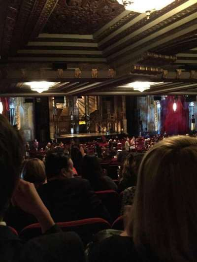 Hollywood Pantages Theatre Section Orchestra L Row Yy Seat 5