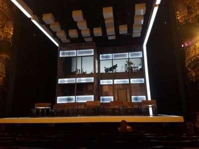 Apollo Theatre, section: Stalls, row: K, seat: 8