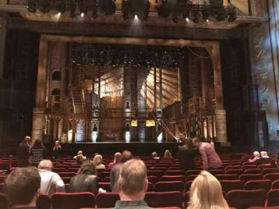 Pantages Theatre (Hollywood), section: Orchestra C, row: P, seat: 109
