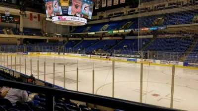 Mohegan Sun Arena At Casey Plaza Section 114 Row H Seat