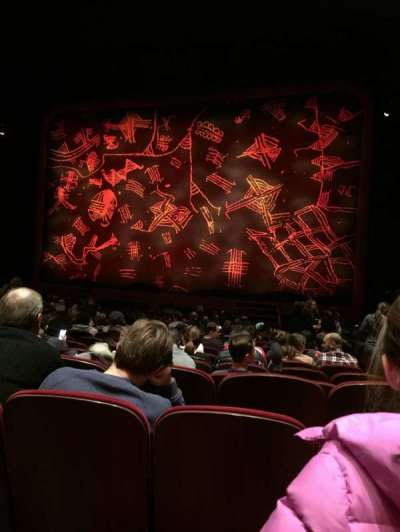 Minskoff Theatre Section Orchestra Row R Seat 130