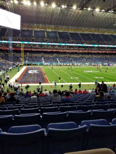 Alamodome, section: 116, row: 20, seat: 12