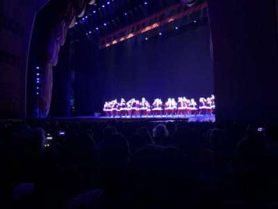 Radio City Music Hall, section: Orchestra 2, row: LL, seat: 204