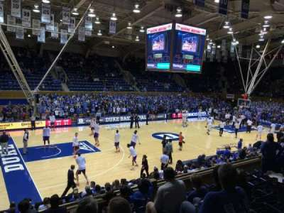 Cameron Indoor Stadium, section: 5, row: G, seat: 1 and 3