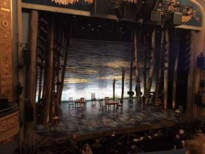 Gerald Schoenfeld Theatre, section: Mezz Left, row: B, seat: 5