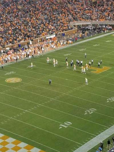 Neyland Stadium, section: KK, row: 23, seat: 10