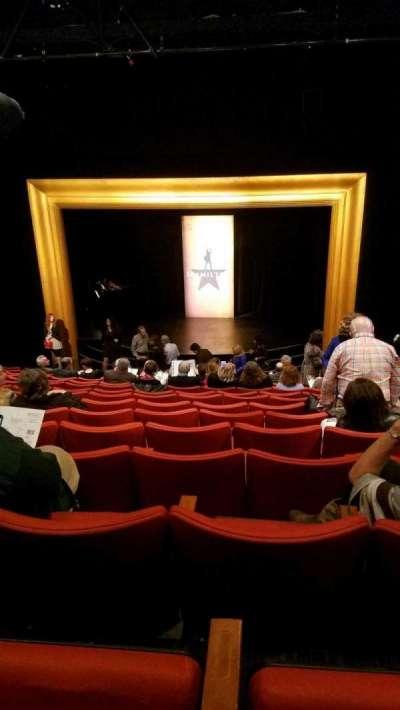 Kirk Douglas Theatre, section: Main, row: Q, seat: 113