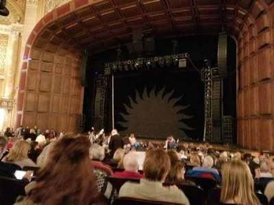Benedum Center, section: ORCH-RC, row: P, seat: 32