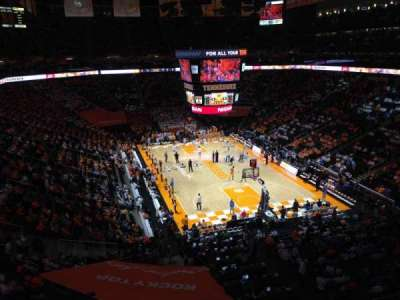 Thompson-Boling Arena, section: 317, row: 23, seat: 2