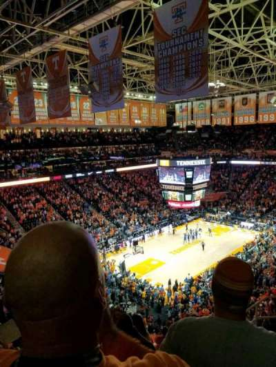 Thompson-Boling Arena, section: 326, row: 7, seat: 6