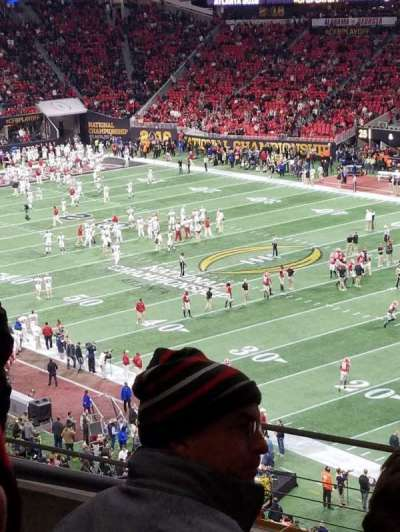 Mercedes-Benz Stadium, section: 230, row: 5, seat: 14