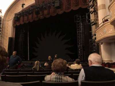 KeyBank State Theatre, section: DRESSR, row: Q, seat: 311