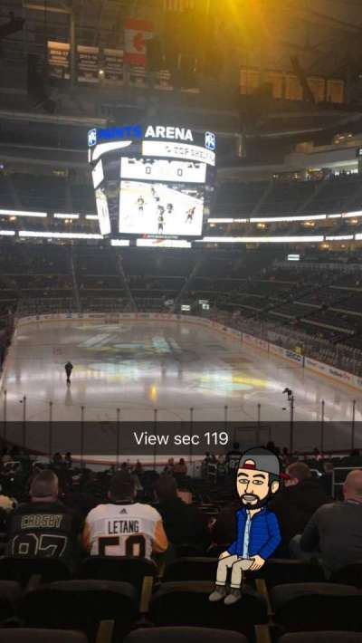 PPG Paints Arena, section: 119, row: AA, seat: 10
