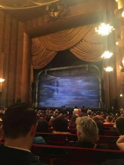 Metropolitan Opera House - Lincoln Center, section: Orchestra Prime, row: W, seat: 22