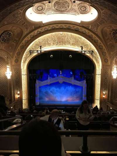 The Paramount Theatre, section: MEZ23, row: N, seat: 6