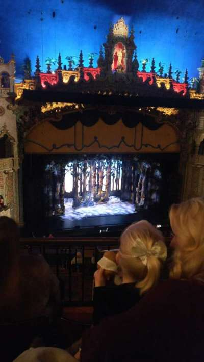 Majestic Theatre - San Antonio, section: Mezzanine, row: FF, seat: 9