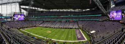 U.S. Bank Stadium, section: 230, row: 8, seat: 23-24