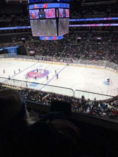 Barclays Center, section: 222, row: 2, seat: 14