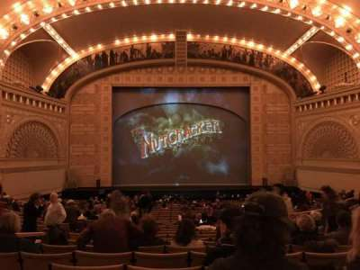 Auditorium Theatre, section: Dress Circle - Center, row: DD, seat: 307