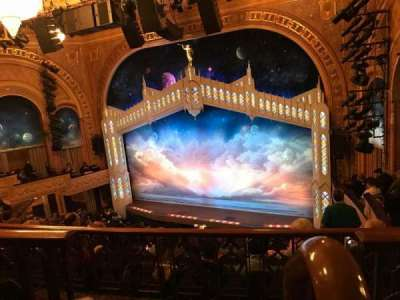 Eugene O'Neill Theatre, section: Rear Right Mezzanine, row: F, seat: 2
