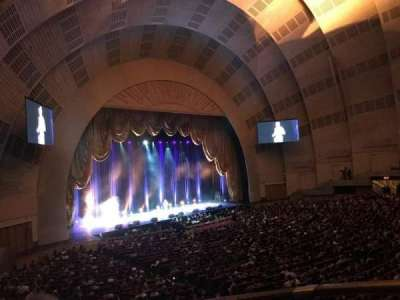 Radio City Music Hall, section: 1st Mezzanine 7, row: BB, seat: 706