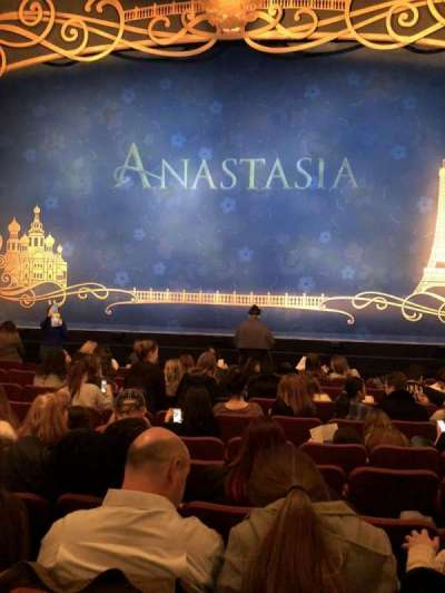 Broadhurst Theatre, section: Orchestra center, row: K, seat: 11
