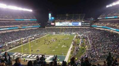 Lincoln Financial Field, section: M13, row: 17, seat: 18