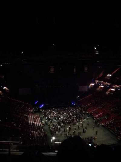 American Airlines Arena, section: 417, row: 12, seat: 18
