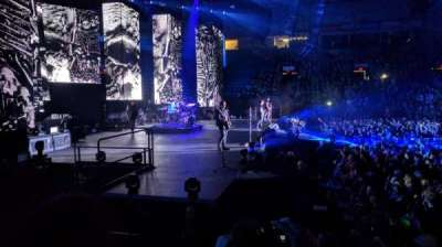 Santander Arena, section: 119, row: F, seat: 11