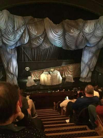 Majestic Theatre, section: Front Mezzazine, row: F, seat: 3