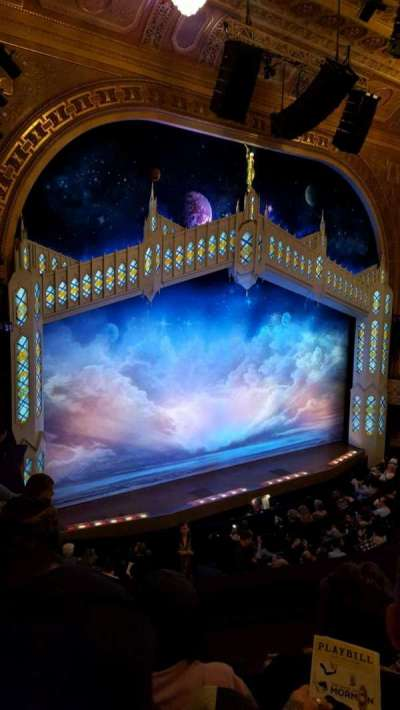 Eugene O'Neill Theatre, section: Mezz left, row: D, seat: 127