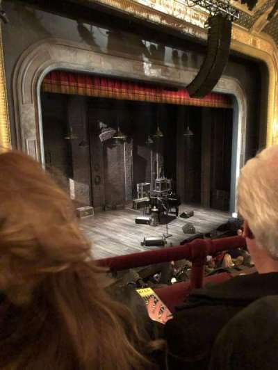 Walter Kerr Theatre, section: MEZZL, row: B, seat: 23