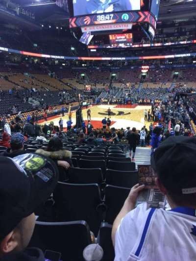 Air Canada Centre, section: 102, row: 16, seat: 1
