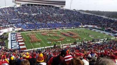 Liberty Bowl Memorial Stadium, section: 108, row: 81, seat: 1,2