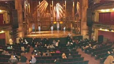 CIBC Theatre, section: Dress Circle Center, row: A, seat: 204-206