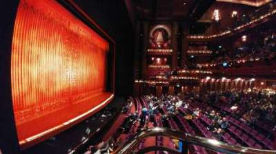 Prince Edward Theatre, section: Loges, row: 6, seat: 2