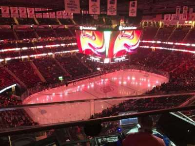 Prudential Center, section: 225, row: 1, seat: 3