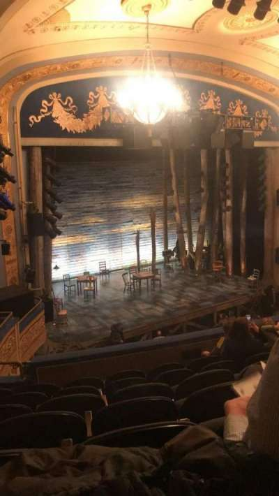 Gerald Schoenfeld Theatre, section: Mezzanine, row: G, seat: 23