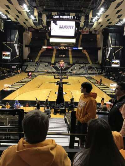 Memorial Gymnasium (Vanderbilt), section: F, row: 3, seat: 42