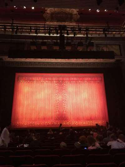 Pantages Theatre (Hollywood), section: ORCHC, row: R, seat: 109
