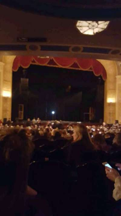 Detroit Opera House, section: Aisle 3, row: Row Y, seat: 117