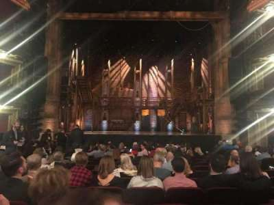 CIBC Theatre, section: Orchestra C, row: R, seat: 8