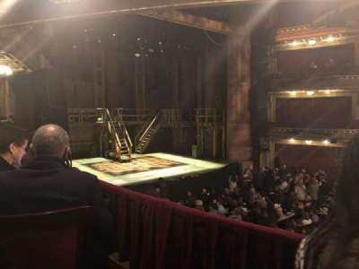 CIBC Theatre, section: DRCR-L, row: B, seat: 11