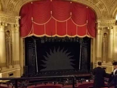 Boston Opera House, section: Mezz Lft Ctr, row: A, seat: 115