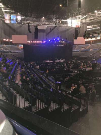 Chesapeake Energy Arena, section: 102, row: K, seat: 18