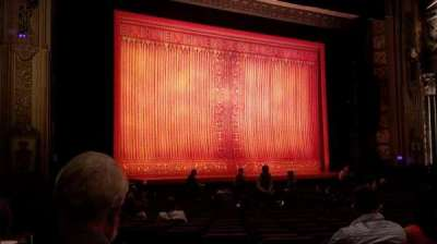 Pantages Theatre (Hollywood), section: Orchestra L, row: x, seat: 3