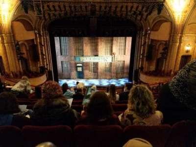 Al Hirschfeld Theatre, section: Mezzanine, row: P, seat: 108