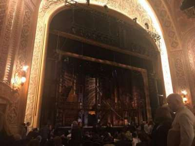 The Paramount Theatre, section: MF4, row: R, seat: 5